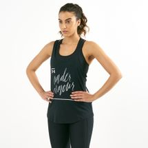 Under Armour Women's Graphic Script X-Back Tank Top