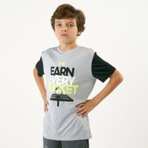 Under Armour Kids' Earn Every Bucket T-Shirt (Older Kids)