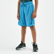 Under Armour Kids' Prototype Wordmark Shorts (Older Kids) Blue