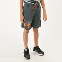 Under Armour Kids' Prototype Logo Short Shorts (Older Kids)