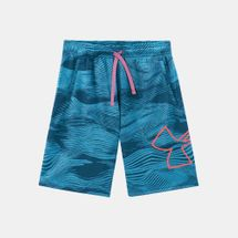 Under Armour Kids' Renegade 2.0 Jacquard Shorts (Older kids)