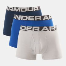 Under Armour Men's Charged Cotton 3 Inch Briefs (3 Pack)