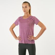 Under Armour Women's Vanish Seamless Keyhole Spacedye T-Shirt