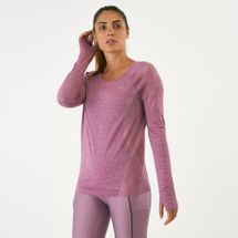 Under Armour Women's Vanish Seamless Keyhole Spacedye Long Sleeve T-Shirt