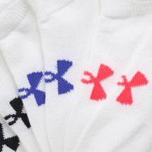 Under Armour Kids' Essential No Show Socks (6 Pairs) (Older Kids), 1489322