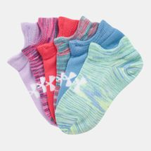 Under Armour Kids' Essential No Show Socks (6 Pairs) (Older Kids)