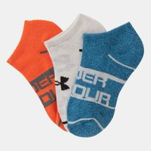 Under Armour Kids' Phenom NS Socks - 3 Pairs (Older Kids)