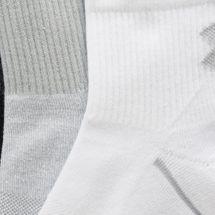 Under Armour Men's Phenom Quarter Socks (3 Pairs), 1490019