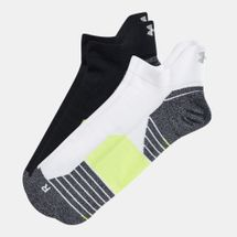 Under Armour No Show Tab Socks (2 Pairs)