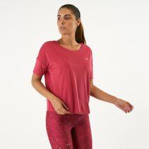 قميص سبورت آيلت فلوي قصير الأكمام من اندر ارمر للنساء