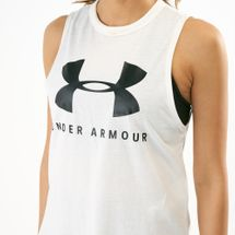 Under Armour Women's Sportstyle Graphic Muscle Tank Top, 1505116