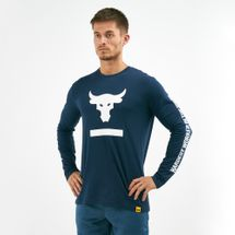 Under Armour Men's x Project Rock Hardest Worker Long Sleeve T-Shirt
