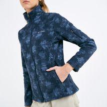 Columbia Women's Fast Trek Printed Fleece Jacket, 1882830