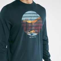 Columbia Men's Cades Cove™ Long Sleeves Graphic T-shirt, 1850334