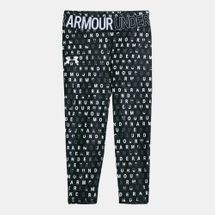 Under Armour Kids' HeatGear® Printed Ankle Crop Leggings (Older Kids)