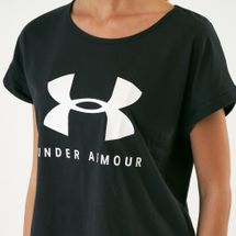 Under Armour Women's Sportstyle Fashion SSC T-Shirt, 1613180