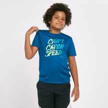 Under Armour Kids' Can't Catch Speed T-Shirt (Older Kids)
