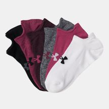 Under Armour Women's Essential Now Show Socks (3 Pairs)