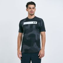 Under Armour Men's Printed Bar Graphic T-Shirt