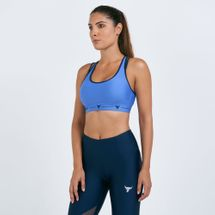 Under Armour Women's The Rock Mid Crossback Strappy Sports Bra