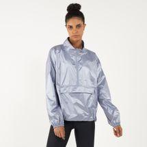 Under Armour Women's Metallic Woven Po Anorak Jacket
