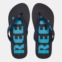 Reef Men's Switchfoot Prints Flip Flops Blue