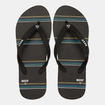 Reef Men's Switchfoot Prints Flip Flops Black
