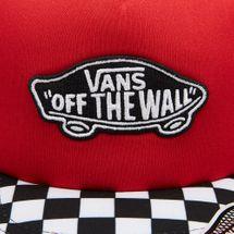 Vans Kids' Classic Patch Trucker Plus Cap (Older Kids) - Red, 1723142
