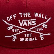 Vans Kids' Skate Lock Up Snapback Cap - Red, 1723139