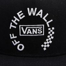 Vans Men's Distort Snapback Cap - Black, 1723074