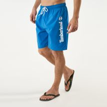 Timberland Men's Sunapee Lake Logo Swimming Trunks