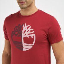 Timberland Men's Divided Tree Logo T-Shirt, 1732554