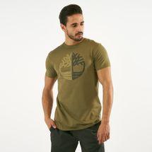 Timberland Men's Kennebec River Large Silicone Tree Slim T-Shirt, 1567010