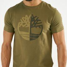 Timberland Men's Kennebec River Large Silicone Tree Slim T-Shirt, 1567013