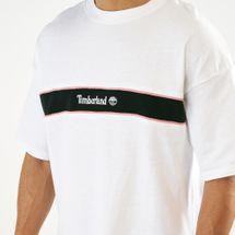Timberland Men's Stripe Box Fit Linear T-Shirt, 1561175