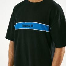 Timberland Men's Stripe Box Fit Linear T-Shirt, 1561199