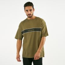 Timberland Men's Stripe Box Fit Linear T-Shirt