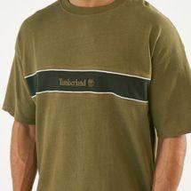 Timberland Men's Stripe Box Fit Linear T-Shirt, 1561179