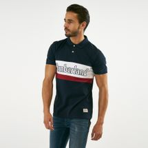 Timberland Men's Millers River Color Block Polo Shirt
