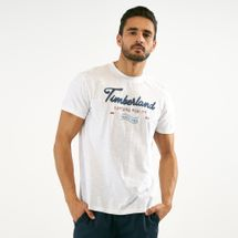 Timberland Script Logo Graphic T-Shirt