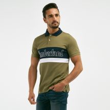 Timberland Men's Millers River Logo Polo T-shirt