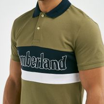 Timberland Men's Millers River Logo Polo T-shirt, 1732563