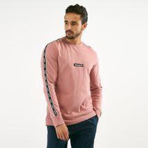 Timberland Men's Tape Long Sleeve T-Shirt Pink