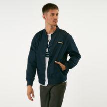 Timberland Men's Varsity Bomber Jacket Blue