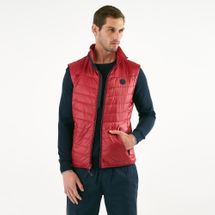 Timberland Men's Syke Peak Vest Jacket Red