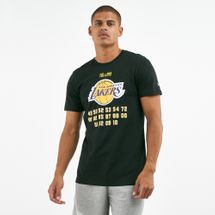 New Era Men's NBA LA Lakers Champion T-Shirt