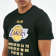 New Era Men's NBA LA Lakers Champion T-Shirt, 1671459