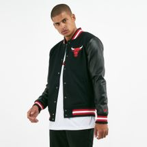 New Era Men's NBA Chicago Bulls Logo Varsity Jacket