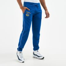 New Era Men's NBA Golden State Warriors Stripe Piping Joggers