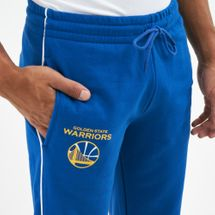New Era Men's NBA Golden State Warriors Stripe Piping Joggers, 1671501